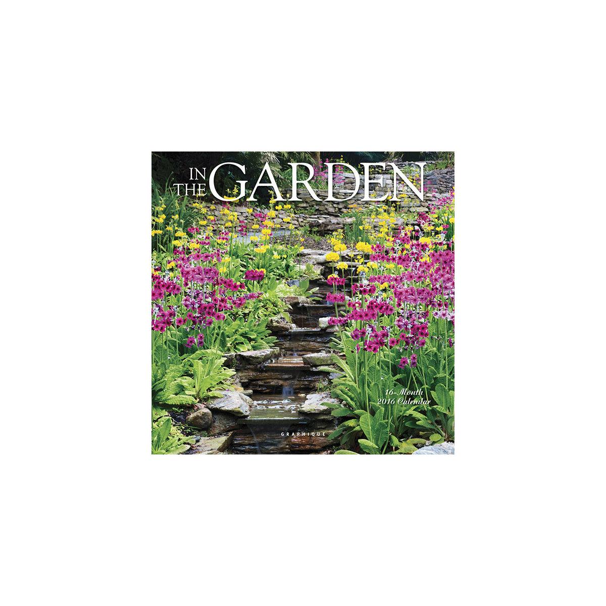 Mini calendrier jardin 2016 for Jardin graphique